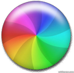 Spinning the color wheel